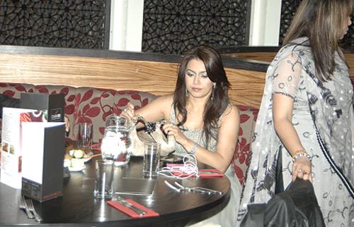 Bollywood actress Mahima Chaudhary
