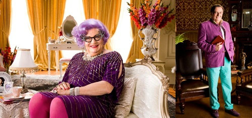 Dame Edna & Barry Humphries