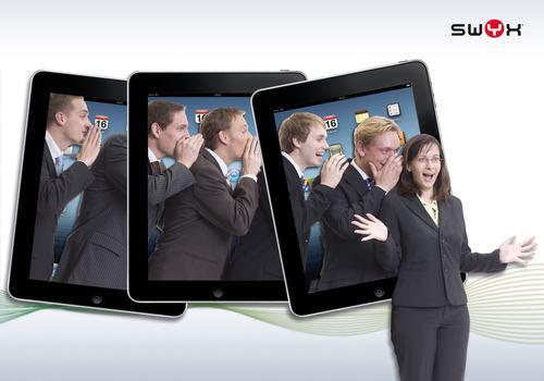 Swyx runs iPad promotion