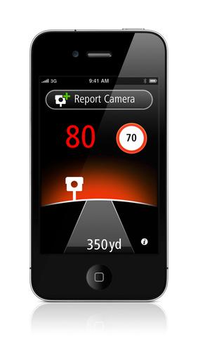 TomTom Speed Camera app