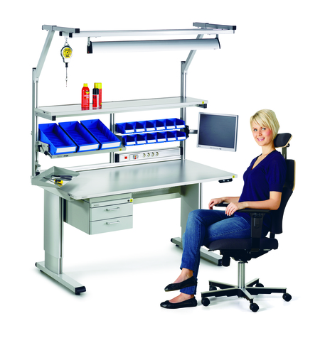 Treston supplies ergonomic workbenches
