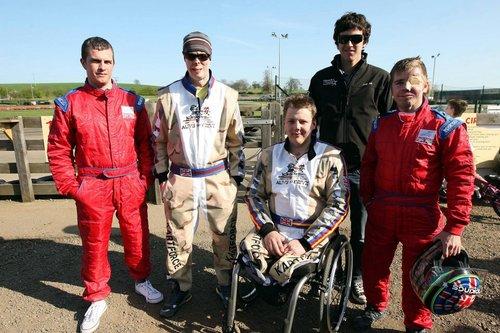 Team KartForce with Josh Hill