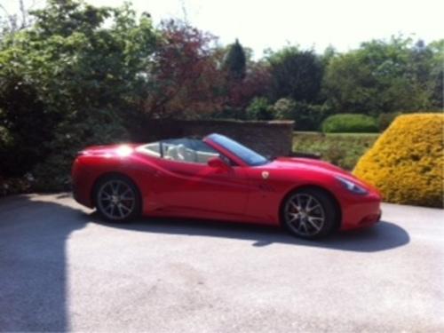Ferrari - Parked at Rudells Event