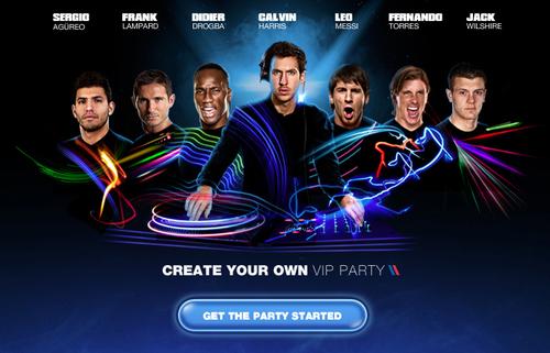 Pepsi VIP Facebook App