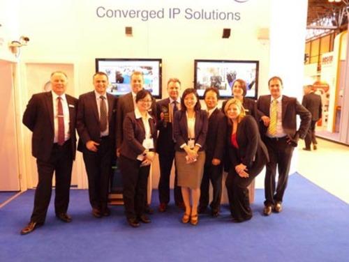Mayflex and QNAP at IFSEC 2012