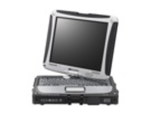 Toughbook CF-19 with rotating screen