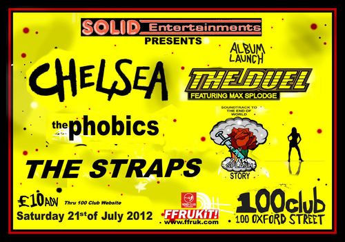 100 Club Flyer Sat 21 July 2012