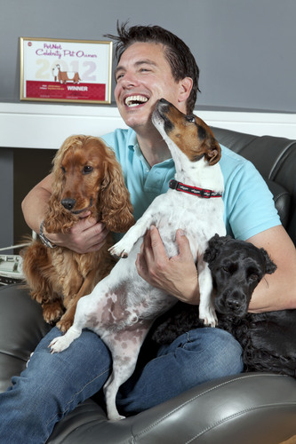 John Barrowman, his dogs and new Award