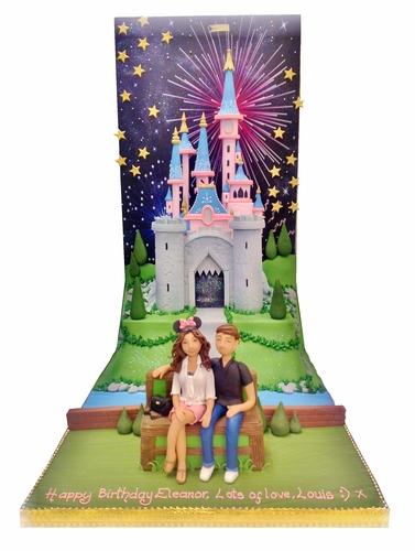 Louis Tomlinson cake for Eleanor
