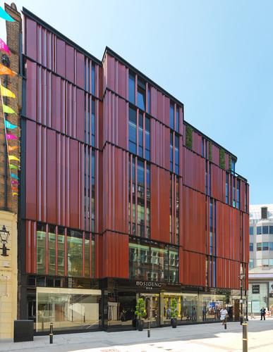 The newly-opened Bosideng London store