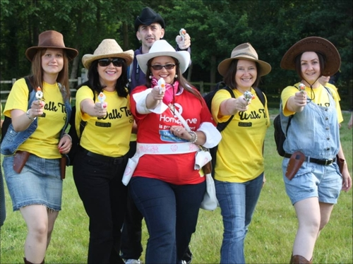 HomeServe raising money for Marie Curie
