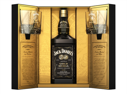 Jack Daniels Double Gold Medal Gift Set