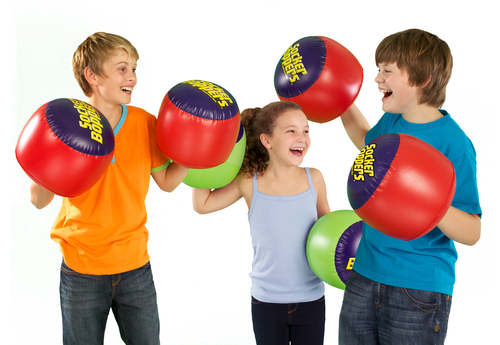 Everyone can enjoy Socker Boppers!