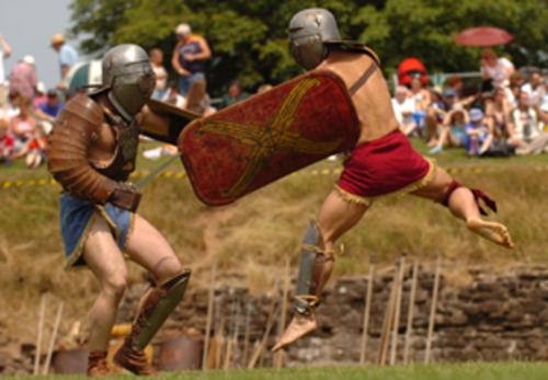 Romans in Caerleon