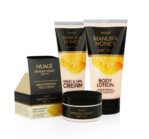 Nuage Manuka Honey beauty range