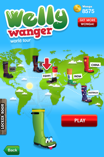 Welly Wanger on Tour iPhone app