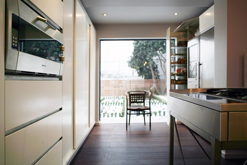Kitchen with classic Bulthaup island