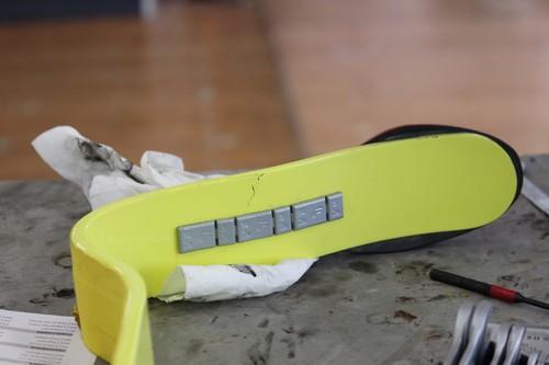 Ottobock - cracked running blade
