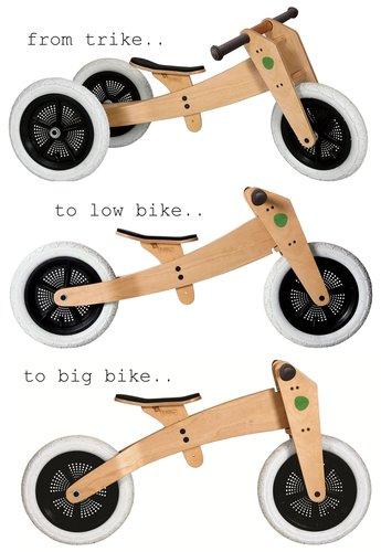 Wishbone bike 3 modes