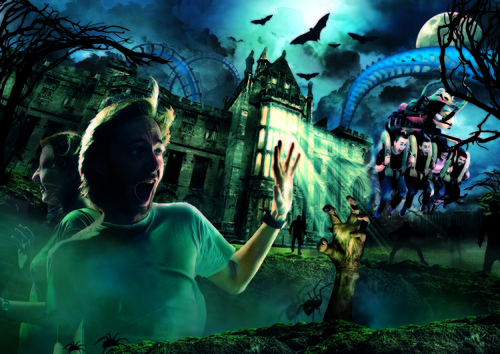Alton Towers Resort Scarefest 2012