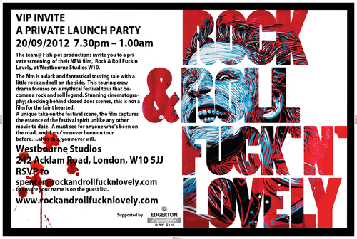 VIP invite to RRFL film launch party