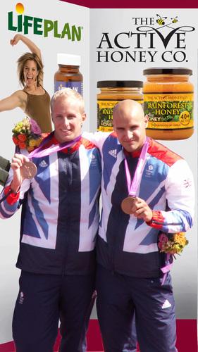 Olympic Bronze Medal winners Jon & Liam