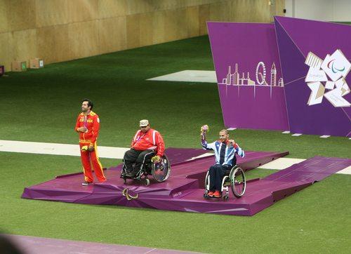 Matt Skelhon, Paralympics GB wins Bronze