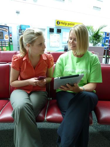Southampton Airport phone app