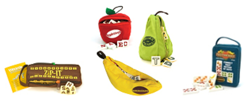 The Bananagrams Family of Games