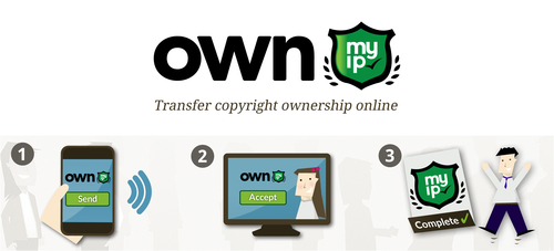 Transfer copyright ownership online