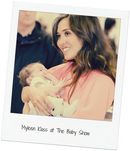 Myleen Klass at The Baby Show