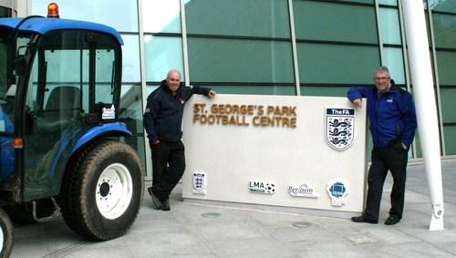 Alan Ferguson (left) and Richard Campey
