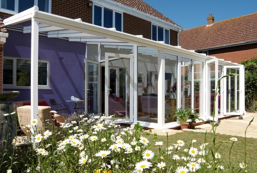 Anglian verandah conservatory