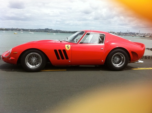 The finished replica Ferrari GTO