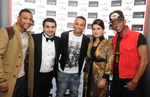 Frank & Sasha Khalid with JLS at Chak 89