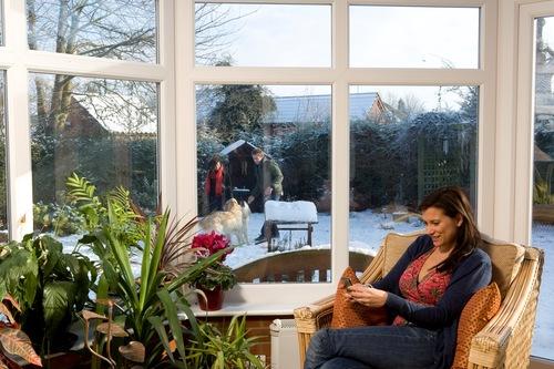 Anglian winter conservatory