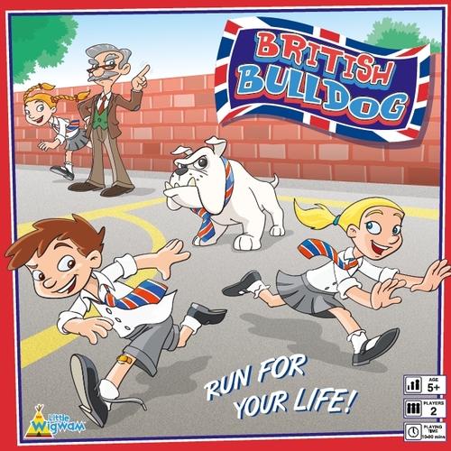 British Bulldog - box front