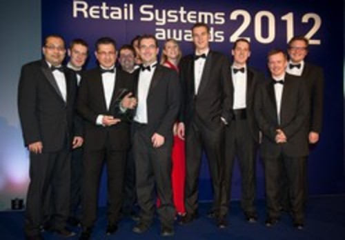 IVIS Group collecting the award