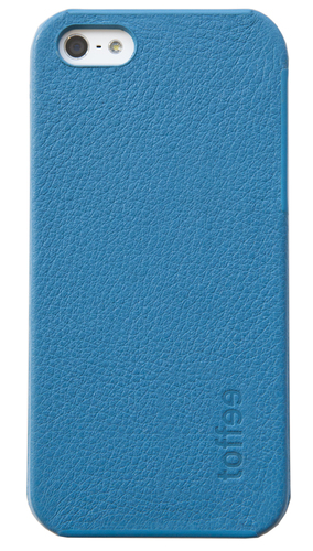 toffee iPhone 5 hard shell blue