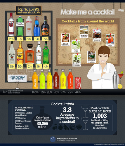 Makemeacocktail Infographic