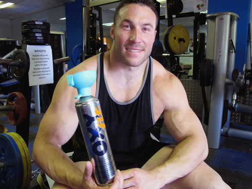 Richard Gozdecki with his OXYfit