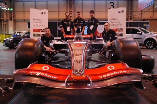 SkillAuto winners visit the MTC.