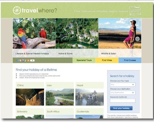 Travelwhere Home Page