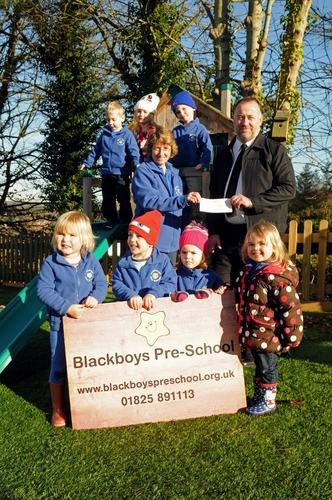 Blackboys Pre-School receives donation