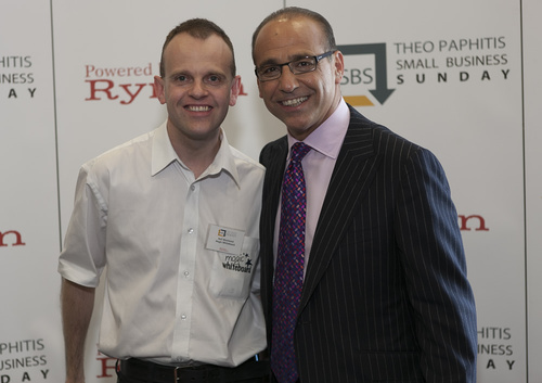 Neil Westwood and Theo Paphitis