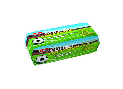 Corner Football flow wrap 4pack
