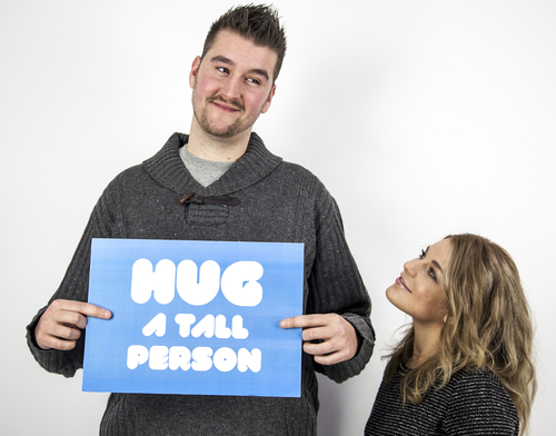 Hug A Tall Person Day