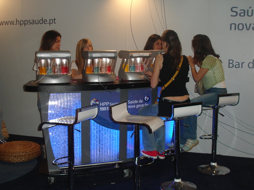 Bar O2 Oxygen Bar at Rock in Rio