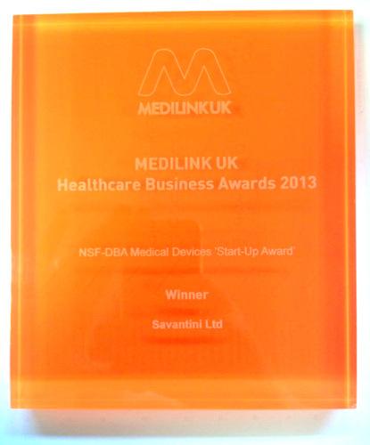 Savantini Limited Medilink UK Award