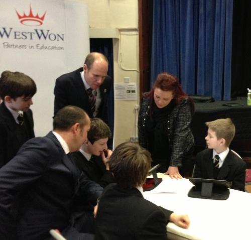 WestWon at John Hampden Grammar Open Day